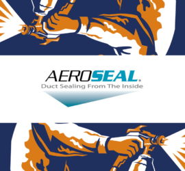 How to Seal Ductwork from the Inside with Aeroseal by SANAIR IAQ
