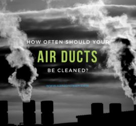 How Often Should You Have Your Air Ducts Cleaned? | SANAIR IAQ